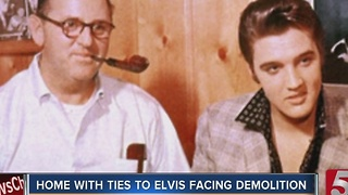 Nashville Home With Elvis Connection Could Soon Be Replaced By Car Wash - Video