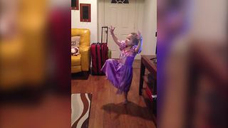 """Toddler Girl Asking a Million Silly Questions"""