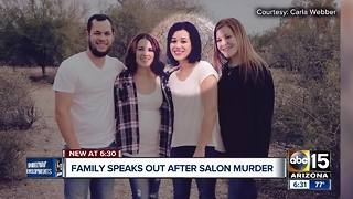 Family speaks out after nail salon murder in Mesa - Video
