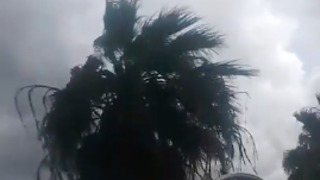 Hurricane Harvey Winds Reach San Leon, Texas - Video