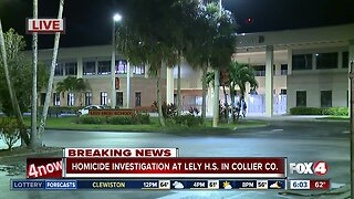 Homicide investigation underway at Collier County school