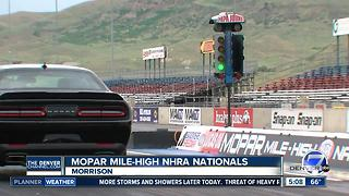 MOPAR Mile-High NHRA Nationals: Leah Pritchett - Video