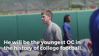 Charlie Weis Jr. Becomes Youngest OC In College Football - Video