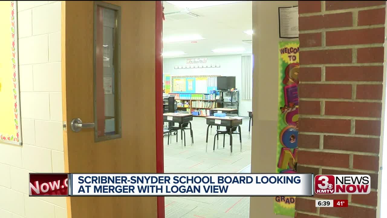 Scribner-Snyder school board looking at merger with Logan View