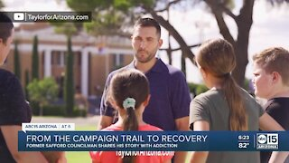 From the campaign trail, to recovery for Chris Taylor