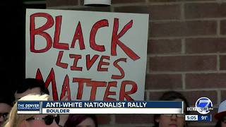 Post-Charlottesville: Anti-racist rallies to be held in Boulder, Denver this weekend - Video