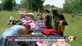 Hundreds of Hamilton kids get free clothes, supplies for school