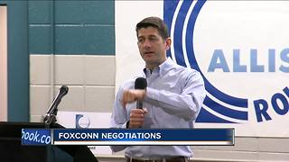 Speaker Paul Ryan fields questions about Foxconn incentive package - Video