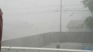 Severe Storm Whips High Winds in Saskatchewan Town - Video