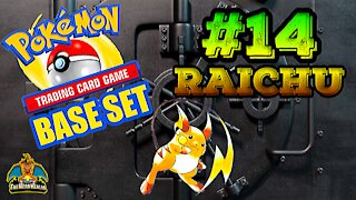 Pokemon Base Set #14 Raichu | Card Vault