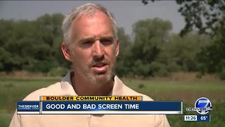 Good and bad screen time - Video
