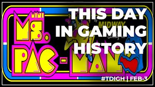 THIS DAY IN GAMING HISTORY (TDIGH) - FEBRUARY 3