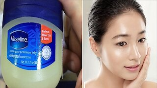 How to prevent wrinkles by using Vaseline