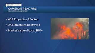 New report lists damage from Cameron Peak Fire