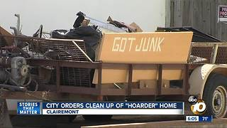 """City orders clean up of """"Hoarder"""" home"""