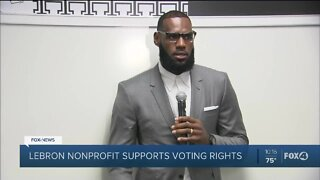 Lebron James to help felon voters