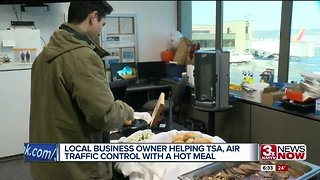 Local business owner helps out TSA, air traffic control during government shutdown
