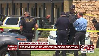 Suspect killed in shooting near east Tulsa hotel
