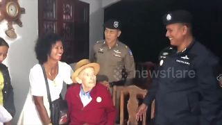 Emotional moment 99-year-old is re-united with lost wife - Video