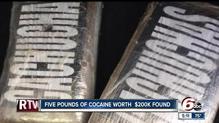 Five pounds of cocaine found during traffic stop - Video