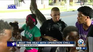 Beat the heat with operation chill - Video
