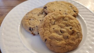 Molded Cape Cod Chocolate Chip Cookies with Walnuts