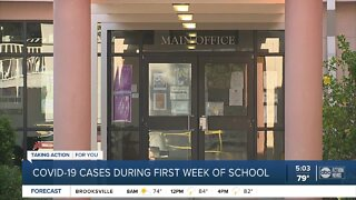 Coronavirus cases reported at 2 Manatee County schools, official confirms