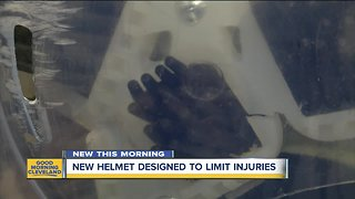 New football helmet created in Akron could reduce concussions