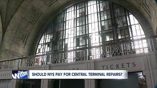 Will NYS pay for Central Terminal repairs?