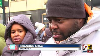 Marchers honor Martin Luther King Jr. Day