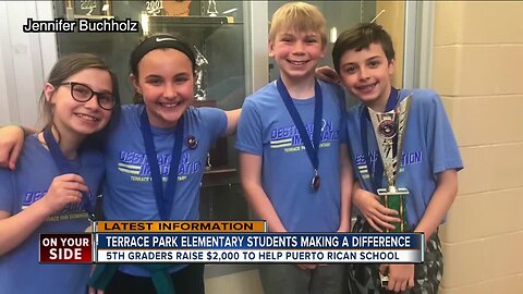 Terrace Park Elementary students making a difference