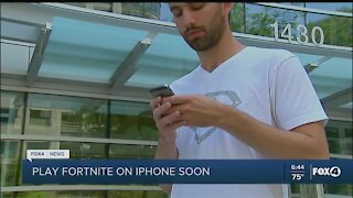 Fortnite coming to iPhone