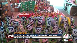 Fireworks tents open in Missouri - Video