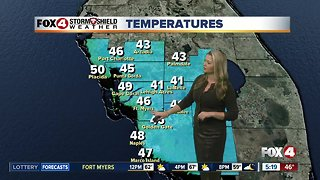 FORECAST: Chilly Thursday morning, pleasant afternoon
