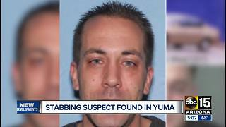 Peoria stabbing suspect arrested in Yuma
