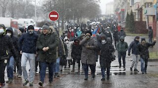 Hundreds Detained In Belarus Protests Over The Weekend