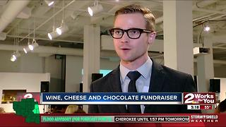 Tulsa Rotaract's Annual Wine, Cheese and Chocolate event - Video