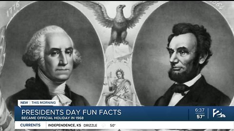 Presidents Day Fun Facts