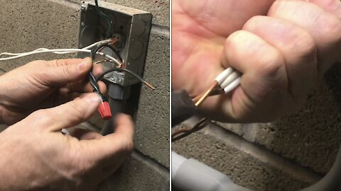 """the SECRET to """"installing"""" wire nuts"""