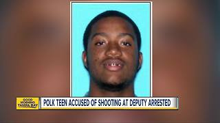 Polk County teen arrested for attempting to murder a law enforcement officer, deputies say - Video