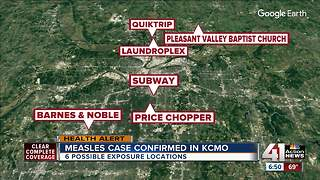Possible exposure to measles at 6 KCMO locations - Video