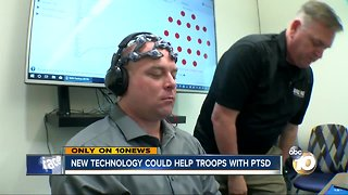 New brain scan technology could help veterans with PTSD