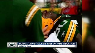 Donald Driver inducted into Packers' Hall of Fame - Video