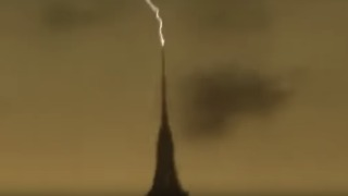 Lightning Appears to Strike Empire State Building on May 15 - Video