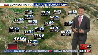 23ABC Evening weather update October 8, 2020