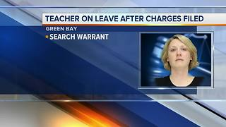 Green Bay teacher on leave, charged with drug crimes