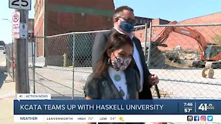 KCATA teams up with Haskell University