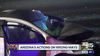 What Arizona plans to do about wrong-way drivers