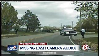 Audio missing on dash cam video from 2 of 3 officers who responded to Carmel mayor's crash - Video