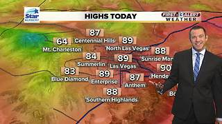 13 First Alert Las Vegas weather May 15 morning - Video